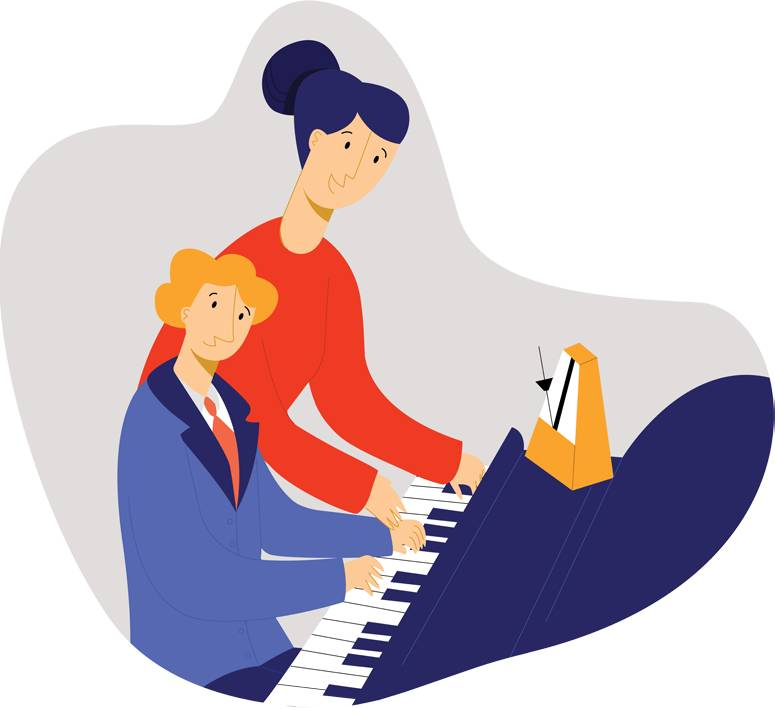 child-playing-piano-under-supervision-of-teacher